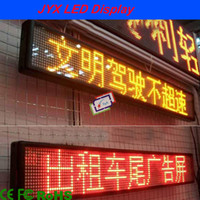 Wholesale HOT P6 Yellow Programmable LED Moving Writing Scrolling Message Display pixel