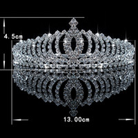 Wholesale In Stock Three piece Red Rhinestone Crystals Bridal Accessories Tiaras Hair Accessories For Wedding Prom Quinceanera Celebrity