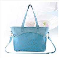 Wholesale New Fashion Lady Large Capacity Mummy Bags Waterproof Durable Microfiber Diaper Bags Multifunction Tote Bags Cross Body Bags