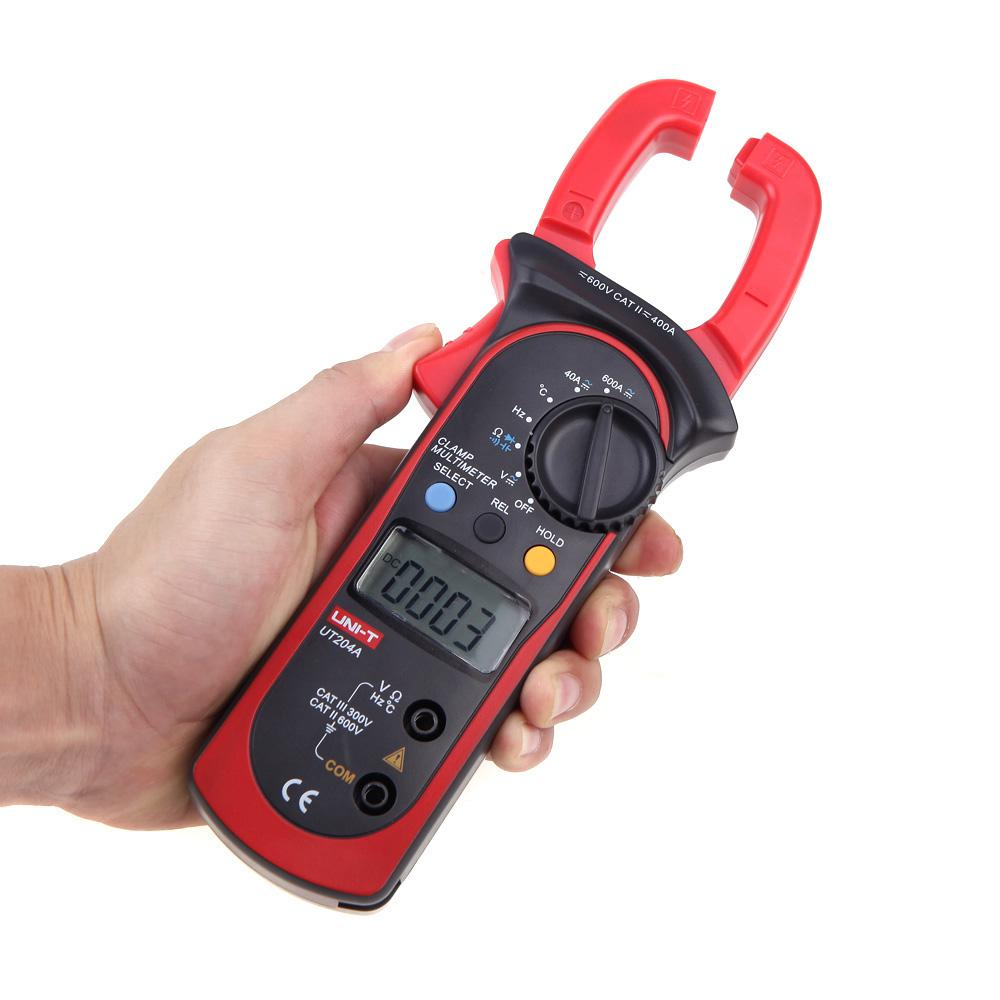A Digital Clamp Meter 400 : Uni t ut a professional digital clamp