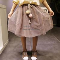 Wholesale Girls Skirts Kids Skirt Maxi Skirts Korean Girl Dress Children Clothes Kids Clothing Spring Autumn Tutu Skirt Children Skirt Kid Girl Skirt