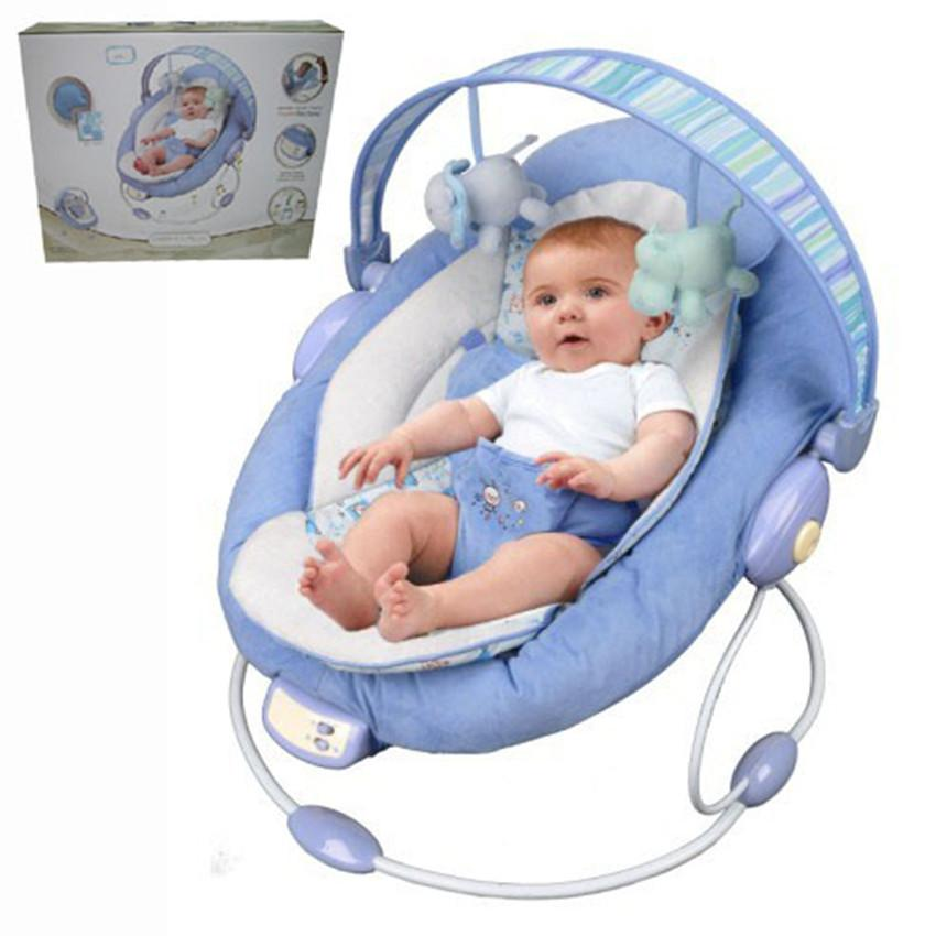 New Baby Rocking Chair With Music Vibrations Soothe Baby