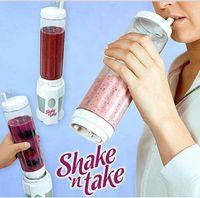 Wholesale Shake n take juice machine multifunctional Mini Electricity Pocket Sports Bottle Blender Hot TV products Free DHL
