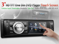 touch screen car audio - Xtrons quot Digital Touch Screen Din Car DVD Player One Din Car Audio Detachable Panel Radio Bluetooth USB SD Subwoofer