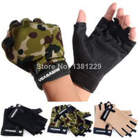 Wholesale Anti Skidding Wear Resistance Sport Cycling Fitness GYM Half Finger Weightlifting Gloves Exercise Training Gloves SV003856