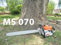 Wholesale ST070 CC MS070 KW Chain Saw Garden Tools Chainsaw Cut Meter Wood With Guide Bar excellent_sale Free Ship