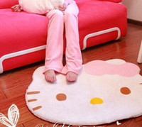 Wholesale KT plush mats exported to Japan helloKitty owl plush blanket the earth mat carpet carpet carpet paternity