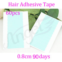 White double sided adhesive tape - Water proof super hair tapes or hold on months Adhesive Double Side Tape for remy human hair weft tools for hair extensions