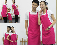 artist smock - korean style chefs catering bar apron waiter butcher bib kitchen cooking nail hairdresser artist aprons smocks