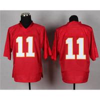 Wholesale On Field Jersey Alex Smith Football Clothing Cheap Football Jerseys Discount Football Uniform Brand Football Shirts Sport Jerseys