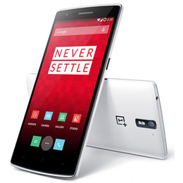 Wholesale Original Oneplus One Qualcomm Snapdragon801 G RAM G ROM Inch Quad Core GHZ OTG NFC Android4 MP OTG NFC