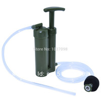 Wholesale Portable Soldier Water Filter Water Purifier for Hiking Camping Survival Emergency Cartridge