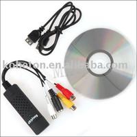 Wholesale Easycap USB Video TV DVD VHS Capture Adapter Audio Capture Adapter