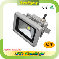 Wholesale 50W DC12V V LED Floodlight V Bridgelux Chip Warranty Years Lifespan H CE RoHS High Lumen LED Flood Light V
