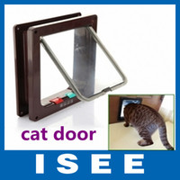 big dog door - Big sale WAY Flap Door Lock Safe Lockable Cat Kitten Small Dog doors