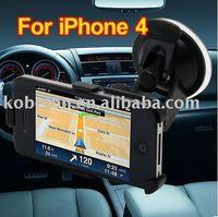Wholesale Car Kit Windshield Mount Suction Holder Cradle Stand Car Holder Navigator bracket Windscreen sucker stent FOR iPhone S G