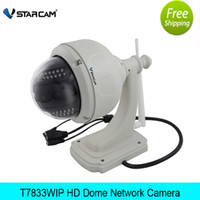 32bit rsic embedded processor ptz wifi wireless ip camera - Vstarcam MP HD P C7833WIP P2P Outdoor PTZ Wireless WiFi IP Camera Security with Pan Tilt SD Card IR Cut dome camera