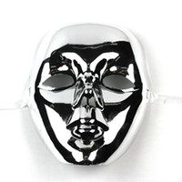 Wholesale t5EVA throw light technology Halloween mask Christmas Toy Bar Masquerade Mask
