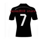 Wholesale Thai Quality Customized Reals Madrid rd Away Season Ronaldo Champions Away Jerseys Soccer Football Jersey Unifroms kids Shirt