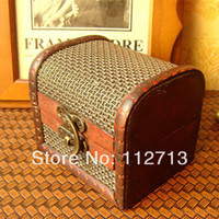 Wood Bedding Eco Friendly New arrive Small handmade Chinese box for jewelry small wooden boxes wholesale watch display box