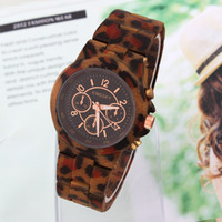 Sport Women's Round Sports Watch Analog KINGSKY Leopard Pattern Quartz movement Unisex Wristwatches Clock hours New 2014 Dropship