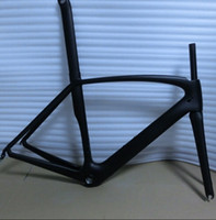 Wholesale Toray T800 kinds of color painting can be choose carbon road frame bike frameset fork seat post clamp headset EMS