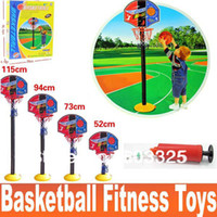2 to 4 Years Unisex Basketball Indoor Outdoor Home Sports Basketball Set Toy child fitness Toys Kids Sports Ball Game 115cm