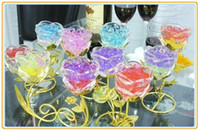 Wholesale packs New Magic Style Crystal Mud Soil Water Beads Flower Planting Plant Flower