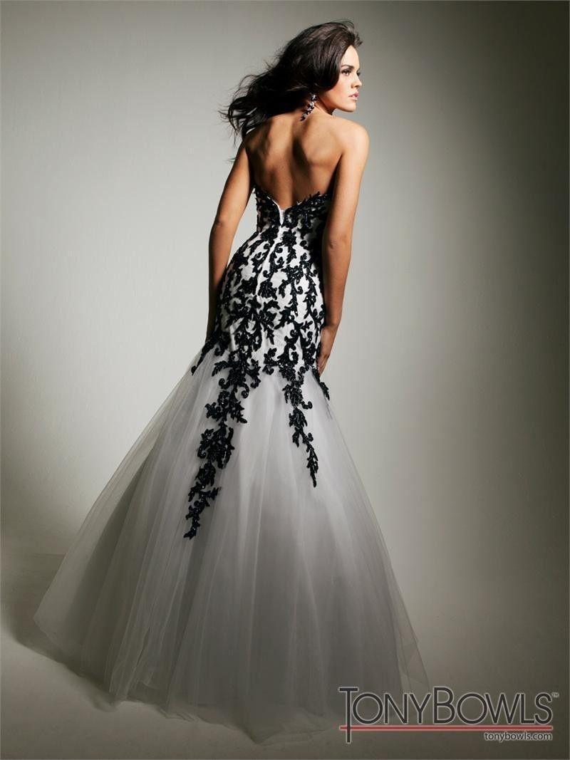 Kim K Black Lace Prom Dress