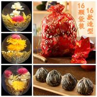 herbal tea bags - Freeshipping bags ball tea flowering herbal tea handmade blooming tea Vacuum packing