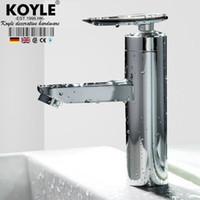 Wholesale KOYLE bathroom faucet torneira Mixer Tap Single Lever Faucet Bathroom Lavatory Tall Vessel Sink basin mixer tap basin faucet