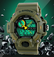 Sport abs watches - SKMEI S SHOCK m Waterproof Military Wrist Watch ABS Resin S S CAMO
