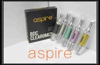 2014 Новые Aspire ET-S BDC Clearomizer 3,0 мл Pure ET-S Glass Версия Форсунка Pyrex Glassomizer BDC Bottom Двойной Катушки Vaporizer Aspire ET S
