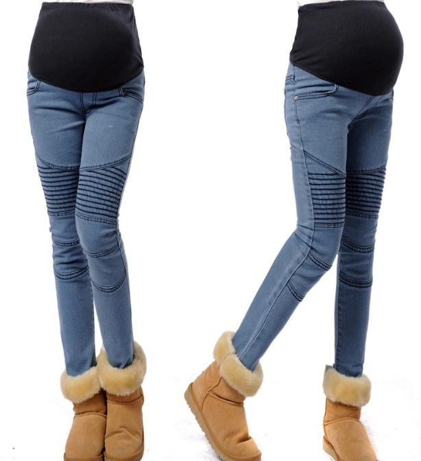 Fashion Maternity Jeans New Pregnant Women Jeans Beautiful Prop ...