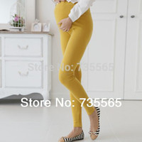 Wholesale Maternity Clothing Legging Spring Summer Fashion Pregnant Women s Solid Knitted Plus Size Legging