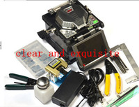Wholesale clear fusion splicing machine RY F600 fusion splicer FTTH fiber optic equipment