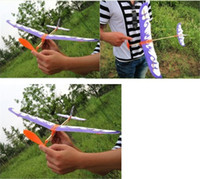 Wholesale 2016 Hot Thunderbird rubber band powered model airplane aircraft DIY stereoscopic science toy airplane model aircraft