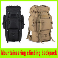 Wholesale 201408 New L Mountaineering climbing backpack travel bag camping Hiking bag multifunctional Airsoft tactical backpacks A252X