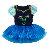 2-7Y girls leotard - Halloween Christmas Children Dance Dress Girls Frozen dance tutu skirt embroidered ethnic Dresses Y Kids Leotard Play Stage Cute Clothing