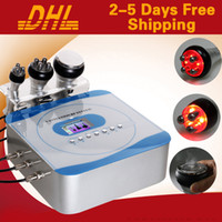 Wholesale 3 in Ultrasonic RF Cavitation Slimming Machine For Beauty Salon Use
