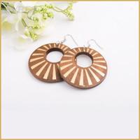Wholesale New Vintage Dangle earrings for women Party jewelry good wooden earrings bohemian style earrings jewelry
