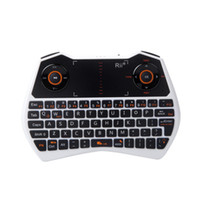 Wholesale Rii G Portable Wireless Keyboard Voice Touchpad Air Mouse Keyboard For PC Notebook Smart TV LY