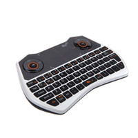 Wholesale Rii G Portable Wireless Keyboard Voice Touchpad Air Mouse Keyboard For PC Notebook Smart TV DHL LY