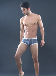 Wholesale Brand SHINO Mens Mesh Sheer Underwear New Thermal Sexy Men Boxers Shorts Male Underpants White Black