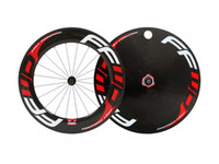 Wholesale FFWD front mm full carbon wheel and rear disc wheel matte finish C tubular type price