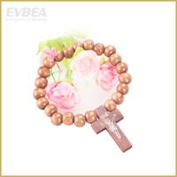 Beaded, Strands Bohemian Unisex 2014 New Arrival bracelets & bangle Good wood bracelets for women & men jewelry cross charms infinity wooden bracelets jewelry