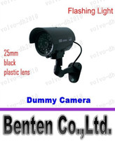 Wholesale Outdoor Dummy Fake CCTV IR Wireless Security Camera Flash Red Led Professional LLFA6981