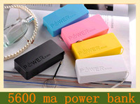 Power Bank   Perfume authentic 5600 ma portable power bank charge treasure universal