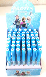 Wholesale Hot Sale New Frozen Cute Ballpoint Pen Cartoon Touch light pen office school supplies Stationery Christmas gift
