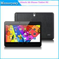 2014 3G phablet 10inch écran capacitif MTK6572 Android 4.2 Tablet PC 1G 8GB RAM Avec Dual SIM double caméra Tablet 002471